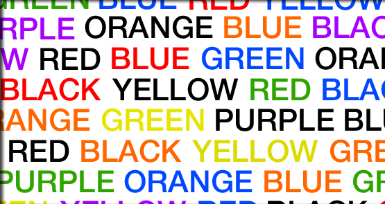 The Stroop Test   Opinionated Duck