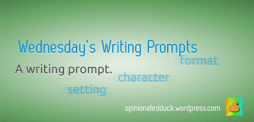 wednesdays writing prompts copy